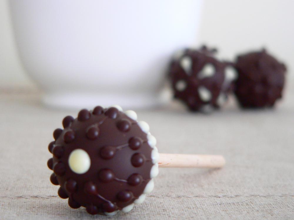 Single Malt Chocolate Lollipops
