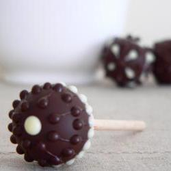 Single Malt Chocolate Lollipops